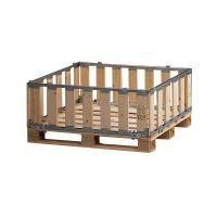 Palettenbox, MP BOX, zerlegbar, 1200x1000x400mm
