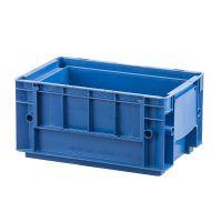 RL-KLT Behälter 3147, glatter Boden, 4 Ablauflöcher, 8,67 l, blau, 297x198x147,5mm