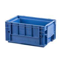 RL-KLT Behälter 3215, glatter Boden, verstärkte Wände, blau, 297x198x147,5mm