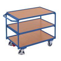 Tischwagen leicht, 3 Böden, 950x500x1050mm