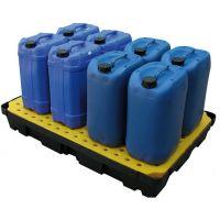 Auffangwanne aus Kunststoff, mit Lochplatte, 100 l, 1200x800x175mm