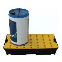 Auffangwanne aus Kunststoff, mit Lochplatte, 30 l Fassungsvermögen, 805x405x155mm