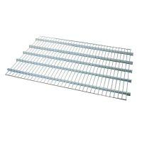 Zwischenboden aus Metall für Rollbehälter, 1335x875x15mm