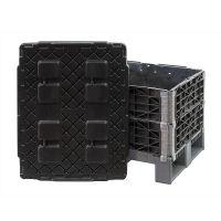 Kunststoffdeckel für Palettenaufsatzrahmen, 820x620x4mm