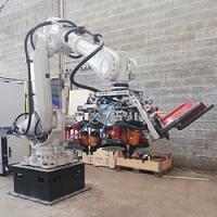Produktionsautomatisierung - ein neuer Roboter für die Herstellung von Paletten in den Niederlanden und Frankreich