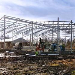 Neuinvestitionen bei Rotom Polen - Modernes Lager für die Trockenlagerung von Paletten