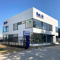 Neues Büro von Rotom Niederlande in Maasbracht