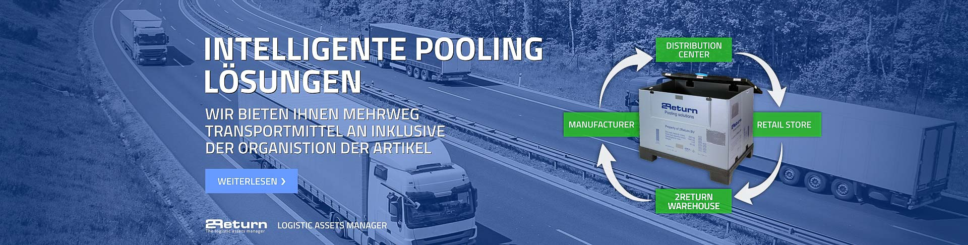 Pooling von Logistik Produkten